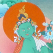 Green Tara Thangka, 2010